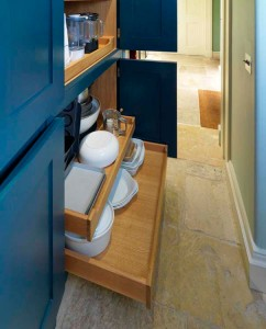 Pantry Cabinets - interior detail.
