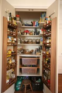 Kitchen larder unit.