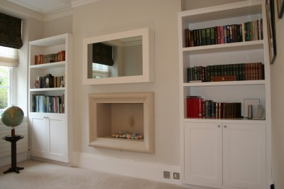 Spray-painted Alcove Units.