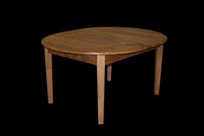 Extending Table made from solid English Elm.