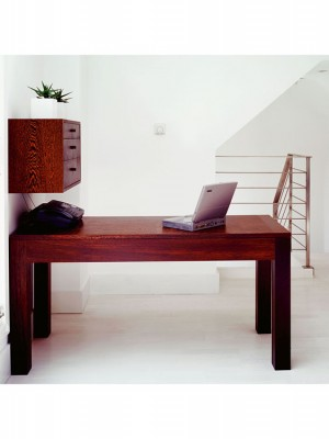 Desk made from Wenge.