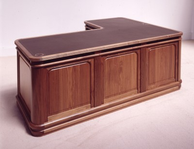Walnut Desk for Kerry Packers Yacht designed by Martin Grierson.