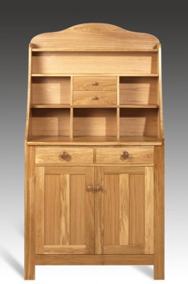 Cabinet made from Oak.