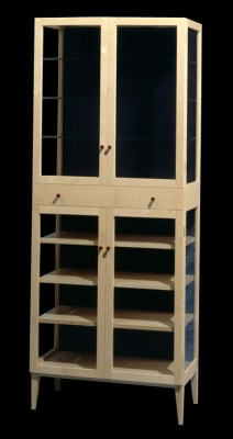 Maple Display Cabinet.