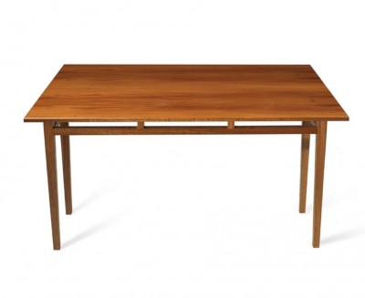 Extending Table made from solid Mahogany.