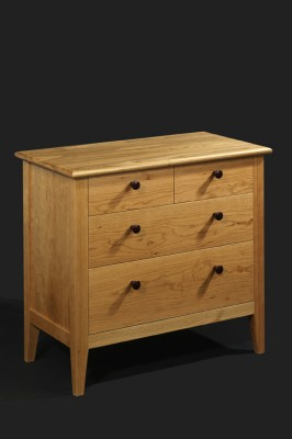 Cherry Bedside drawer unit.