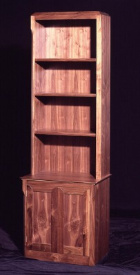 Walnut Alcove unit.