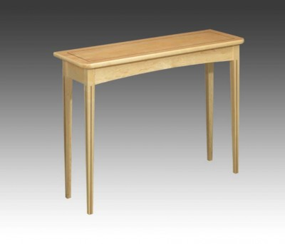 Maple Side Table with Rosewood inlay.